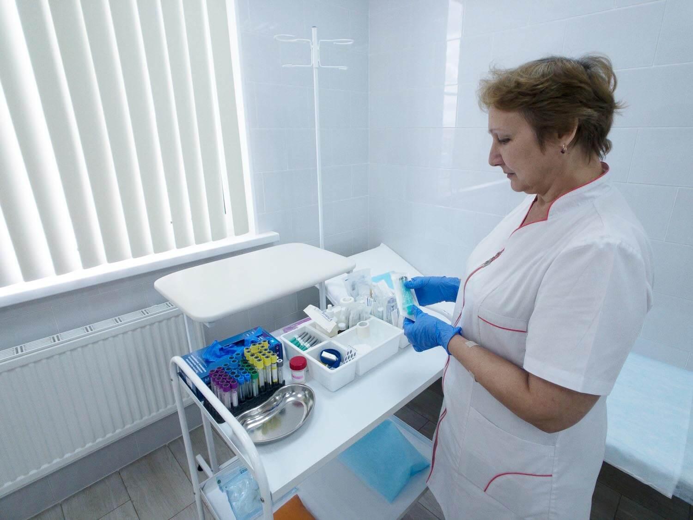 Процедурный кабинет в Поликлинике №1